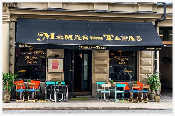 Mamas And Tapas - Tapasrestaurang - Kungsholmen - Stockholm
